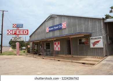 Nacogdoches, TX - July 26, 2012: Boles Feed Store located in Nacogdoches, TX