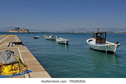 Nafpio, Greece/Boats