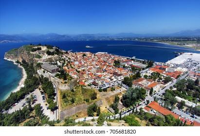 Nafpio, Greece/City view