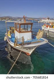 Nafpio, Greece/Fishing Boat