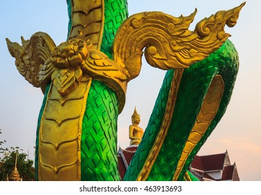 Naga. according to the belief of buddhist.