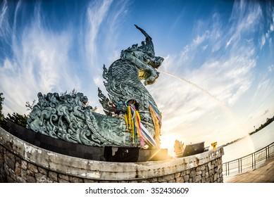 The naga king of Thailand