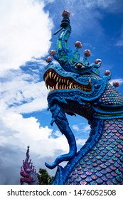 Naga, the mythical serpent-like creatures