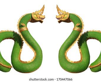 Naga statue , Thailand dragon