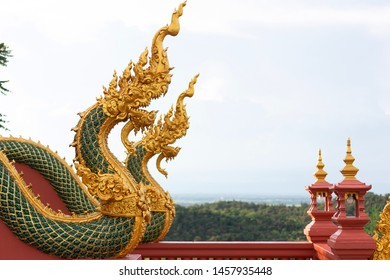 Naga statue in Thailand,In Legend Naga is Protect Buddhism