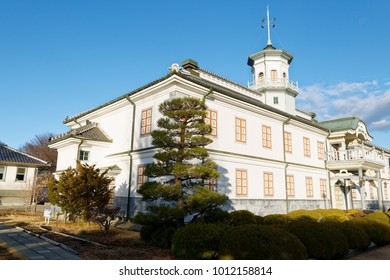 Nagano, Japan, 18/12/2014 - The Kaichi School in Matsumoto, Nagano Prefecture was one of the first schools in Japan. It opened in a temporary building in May 1873.