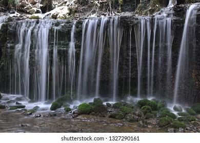 Nagano Prefecture Karuizawa Shiraito Falls.