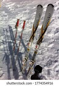 Nagano Prefecture/Japan-01/17/2012: Ryuoo Ski Park is located in Nagano Prefecture, Japan. It's a good hot spot for people ski and snowboard there.