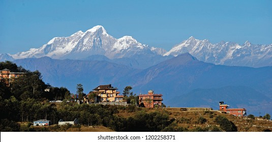 Nagarkot - Located 32 kilometers east of Kathmandu. It's a lovely place to visit where you can enjoy the local life of Nepal and spectacular views over the Himalayas during both sunrise and sunset.