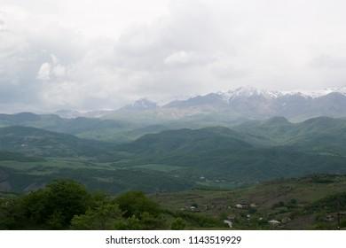 Nagorno-Karabakh Sights, Border of Armenia and Azerbaijan