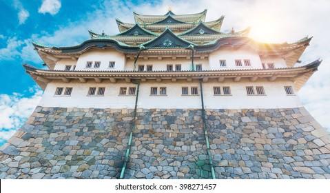 Nagoya castle historic landmark in nagoya japan.
