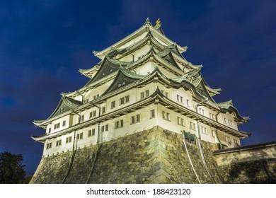 Nagoya Castle night view  2