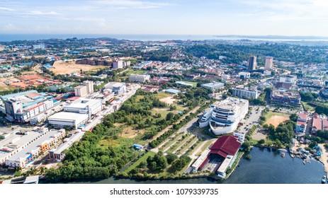 Nagoya City Landscape, Batam, Riau Islands, Indonesia