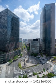 Nagoya, Japan – May 13, 2019: Nagoya station is a public building in Nagoya, Japan.