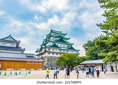 NAGOYA, JAPAN - SEP 11, 2016: Nagoya Castle in Nagoya, Aichi Prefecture, Japan. Aichi Prefecture is a prefecture of Japan located in the Chubu region.