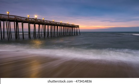 Nags Head Pier, Outer Banks, North Carolina, scenic
