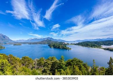 Nahuel Huapi lake, Bariloche (Argentina)