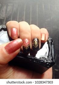 Nail art female Oriental