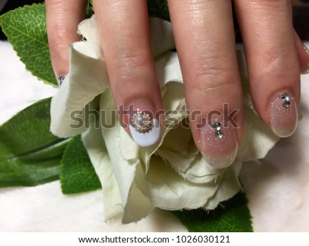 Nail Artist Closeup Shot Art Bridal Stock Photo Edit Now