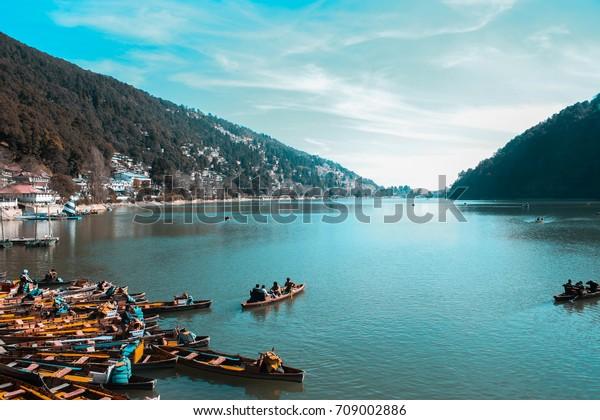 Nainital Lake.