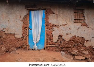 Nairobi home in the Kibera slum