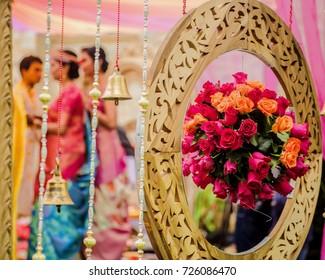Pink Orange Wedding Decor Images Stock Photos Vectors Shutterstock