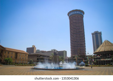 Nairobi, Kenya - January 17, 2015: The Kenyatta International Convention Center