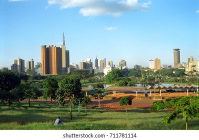 NAIROBI, KENYA -  View of the city on 31 May 2002 at Nairobi. Nairobi is the capital city of Kenya.