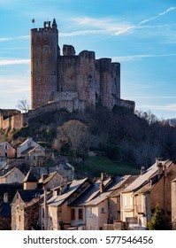 Najac medieval castle and village in Aveyron, France