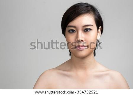 Asian short hair naked happens. Let's
