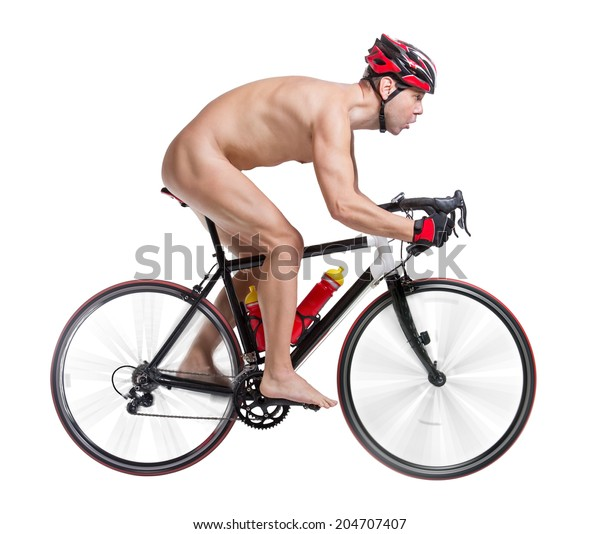 naked-bicyclist-riding-bicycle-isolated-