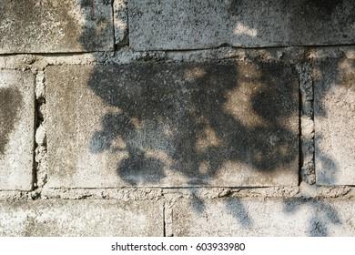 A Naked Brick Concrete Wall