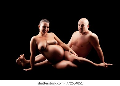 Picture husband wife Pregnant and naked