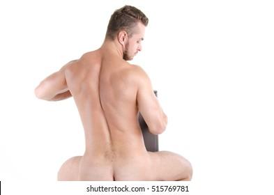 Naked sexy man