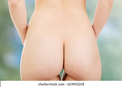 Naked woman's ass.