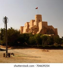 Nakhal Fort, castle in Oman, Arabia