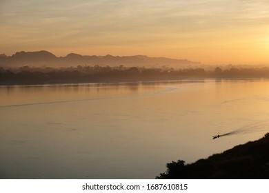 Nakhon Phanom is a town in north eastern Thailand, capital of Nakhon Phanom Province. The town covers the whole tambon Nai Mueang and Nong Saeng and parts of tambon At Samat and Nong Yat.