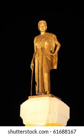 """Nakhon Ratchasima, Constructed in 1934.  """"Thao Suranaree"""" is calso alled """"Khun Ying Mo"""".  She was a wife of King Rama III. She managed to save the city from the invasion of the Laotian army."""