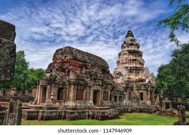 Nakhon ratchasima province, Thailand - August 2' 2018 : Prasat Phanom Wan Historical Park, Nakhon ratchasima, Thailand