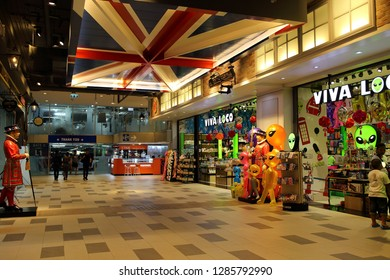Nakhon Ratchasima Province Thailand , January 06 - 2019 : Toy shop at the Terminal 21 Korat shopping mall