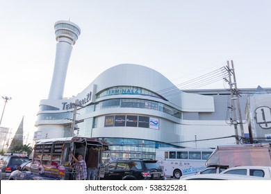 Nakhon Ratchasima, Thailand - December 19, 2016 - Terminal 21 is a shopping reopened in Isan new.