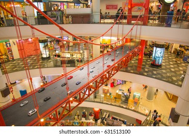 NAKHON RATCHASIMA, THAILAND, FEB 22, 2017: terminal 21 is a new shopping mall in Bangkok