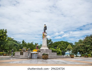 """Nakhon Ratchasima, Thailand - JUNE 27 :  """"Thao Suranaree"""" statue, she managed to save the city from the invasion of the Laotian army on JUNE 27, 2015 in Nakornrachasrima, Thailand"""