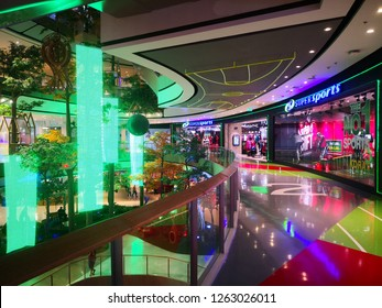 NAKHONRATCHASIMA, THAILAND - 20 DECEMBER 2018 : Super sports is a sport shops in Central Plaza. Central Nakhonratchasima is the largest shopping mall in Nakhonratchasima.