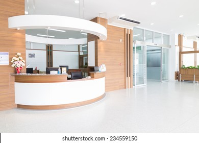 NAKHONRATCHASIMA, THAILAND - November 15, 2014: Interior of new empty in a modern hospital, November 15, 2014 in Nakhonratchasima, Thailand.