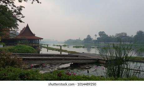 The Nakornchaisri River Nakhon Pathom