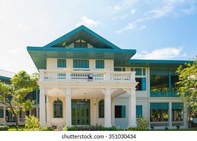 NAKORNPRATHOM,THAILAND-NOVEMBER 30:View Bhimarn Prathom Residence in Sanam Chandra at Nakornprathom on November 30,2015