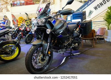 NAKRONRATCHASIMA,THAILAND: December 8,2018 - BigBike Motorcycle at Motor show 2018 the mall Nakonratchasima