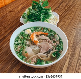 Nam Vang noodles soup. Vietnamese food