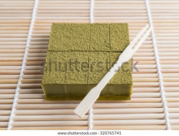 Nama Chocolate Matcha , Green Tea